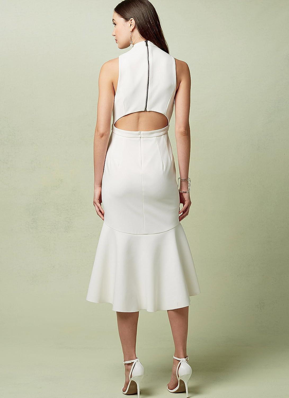 Multi-Colour Sizes 14-22 Vogue Patterns Misses Close-Fitting Dress