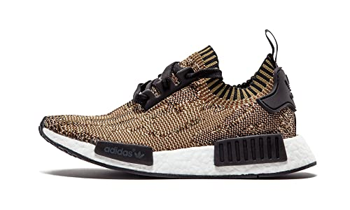 newest 2dd92 6da76 adidas NMD R1 Primeknit Olive Green Black Camo 7 UK 40 2/3 EUR: Amazon.co.uk:  Shoes & Bags