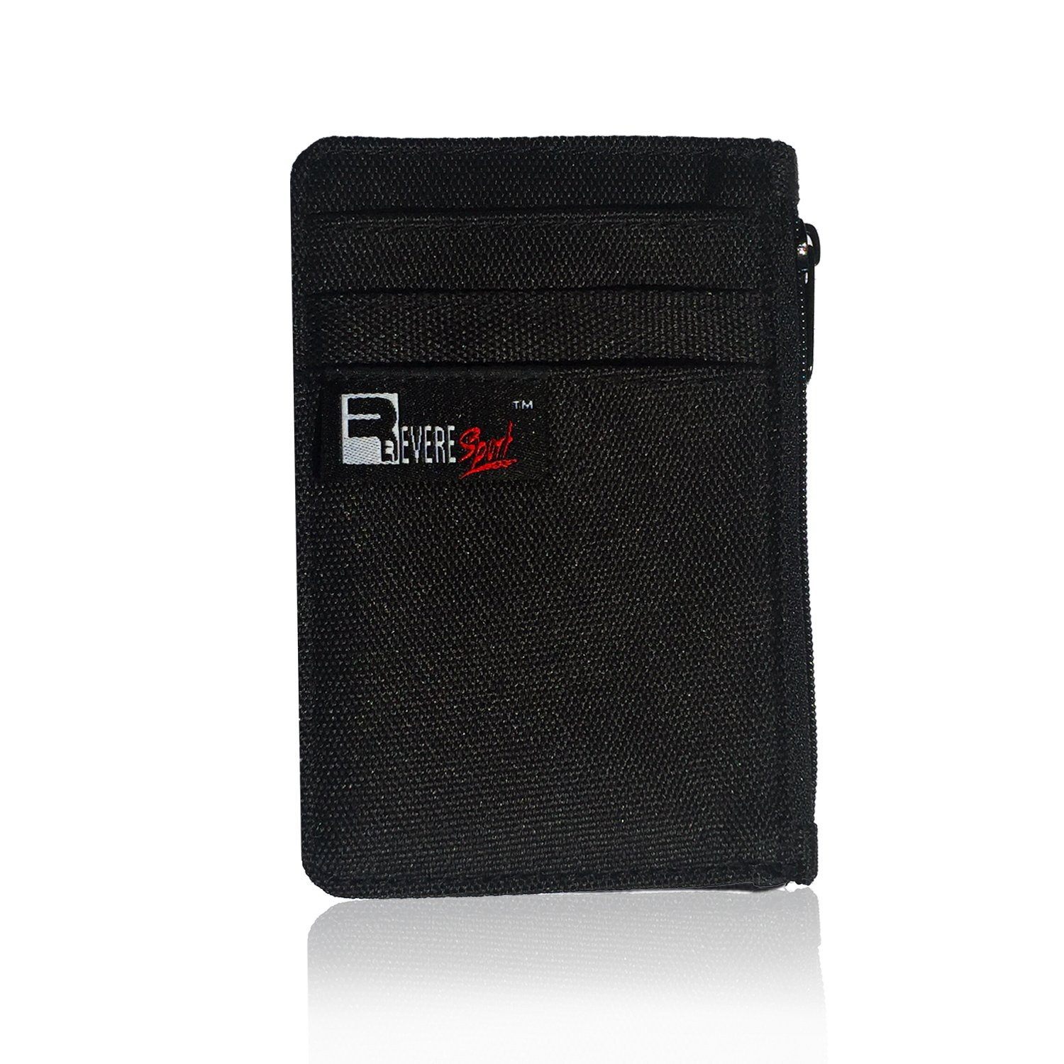 RFID Clip Wallet - Slim Card, Money, Coin and ID Holder. Hidden Travel Pouch
