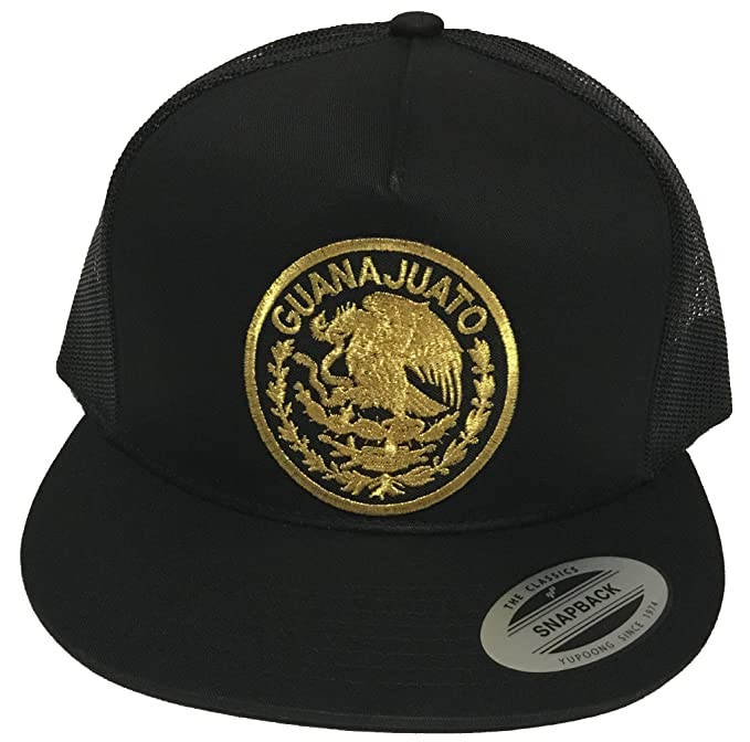 3f972470e33 Image Unavailable. Image not available for. Color  Guanajuato Mexico Logo  Federal Hat Black Mesh