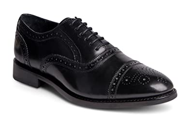 71ba2f3a4f9 Anthony Veer Men s Wingtip Quarter Brogue Lace-up Leather Dress Shoes in  Goodyear Welted