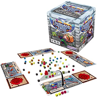 Gamewright Dungeon Drop – The Infinite Dungeon Creation Table top Game: Toys & Games [5Bkhe1206098]