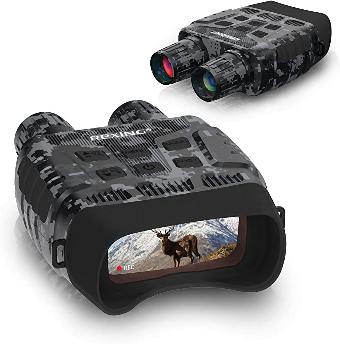 Rexing B1 (Digital Camo) Night Vision Goggles Binoculars - The Budget Pick