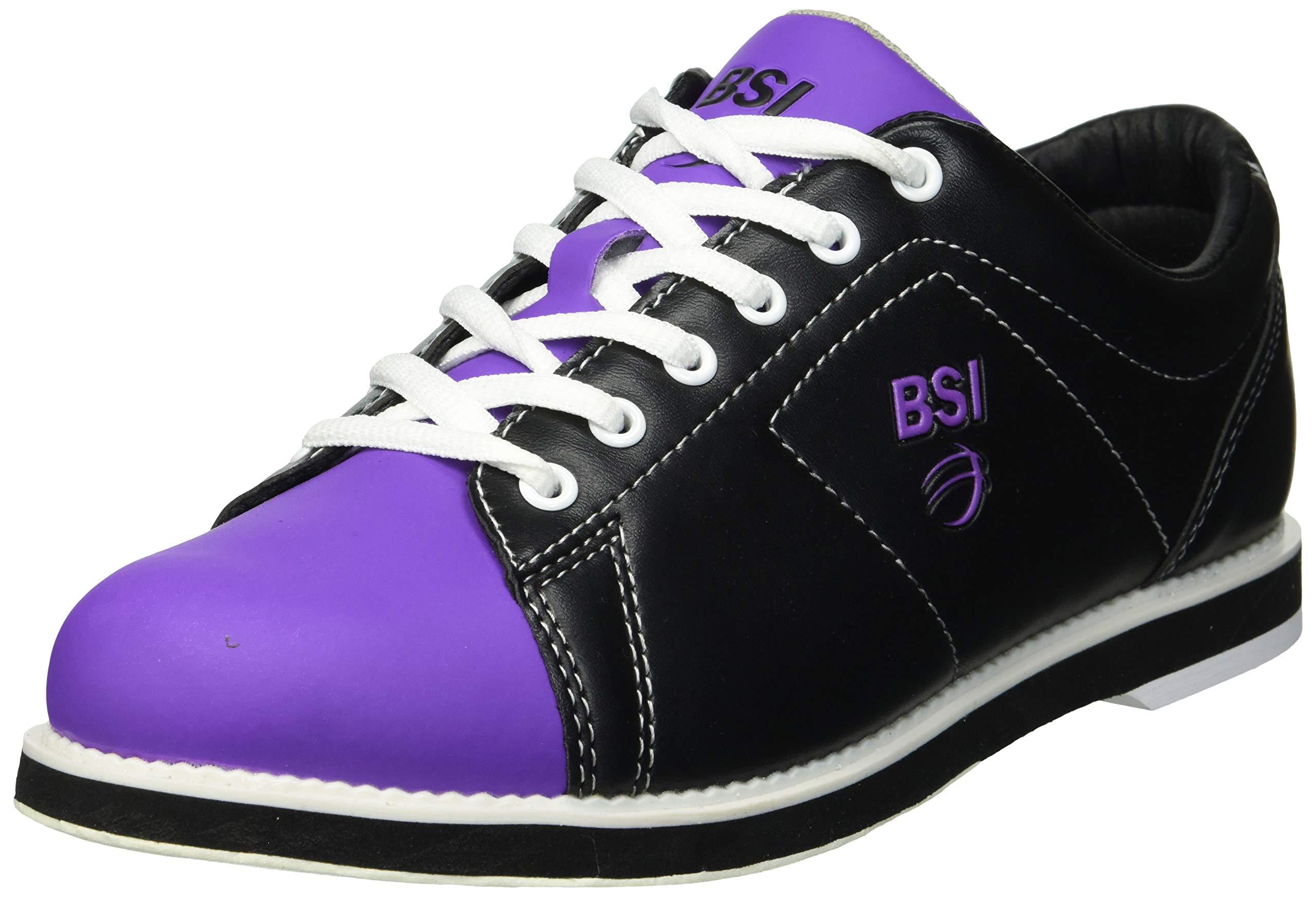 BSI 654 Women's Classic #654, Black/Purple, 9.5 by BSI