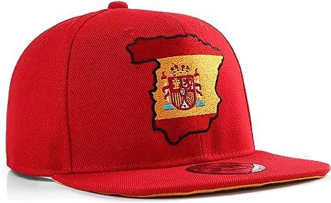 UNDERGROUND KULTURE España Gorra de béisbol roja del Snapback ...