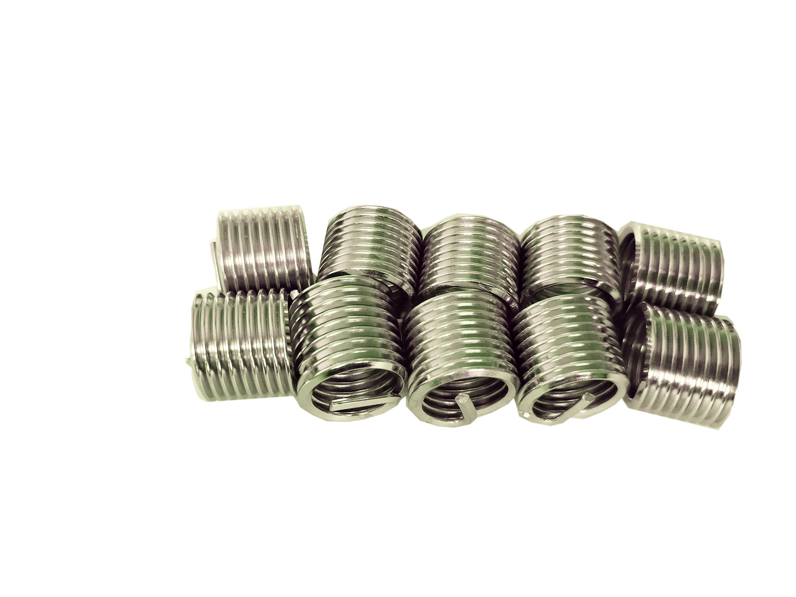 Delisert Type Free Running M8X1.0X1D 304 Stainless Steel Thread Insert 1000pcs