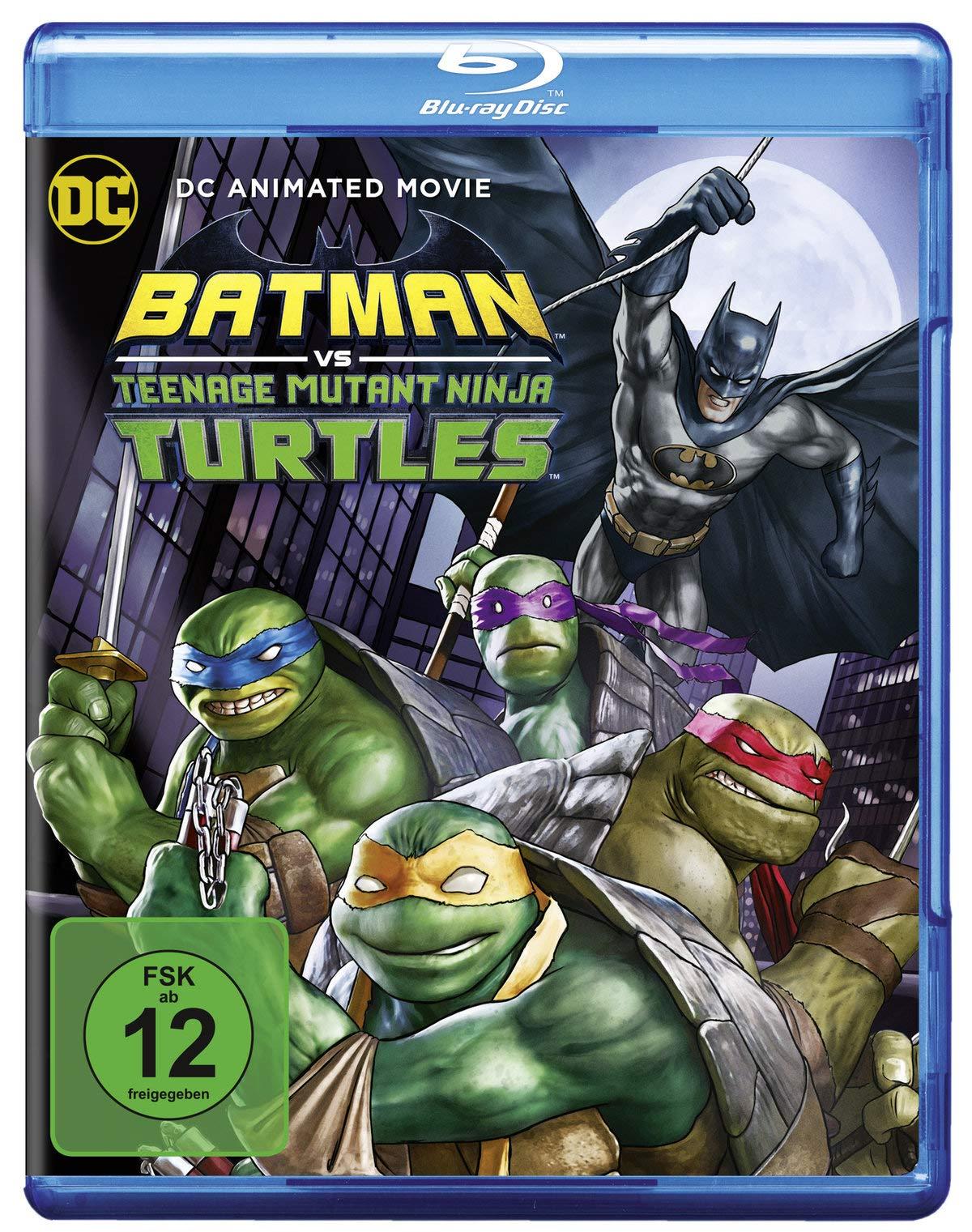 Batman vs. Teenage Mutant Ninja Turtles: Amazon.es: Marly ...
