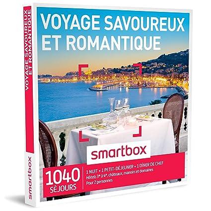 Smartbox - Caja regalo con 505 escapadas inolvidables y románticas, en hoteles de 3 a