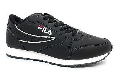 Fila Sneakers Basses Femme - Noir - Noir, 39 EU