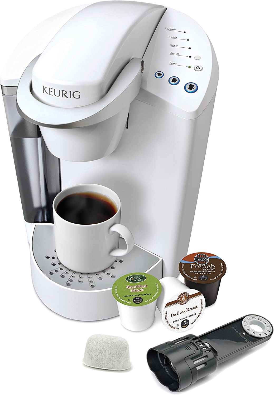 Amazon.com: Keurig K45 Elite Cafetera, Blanco coco: Kitchen ...