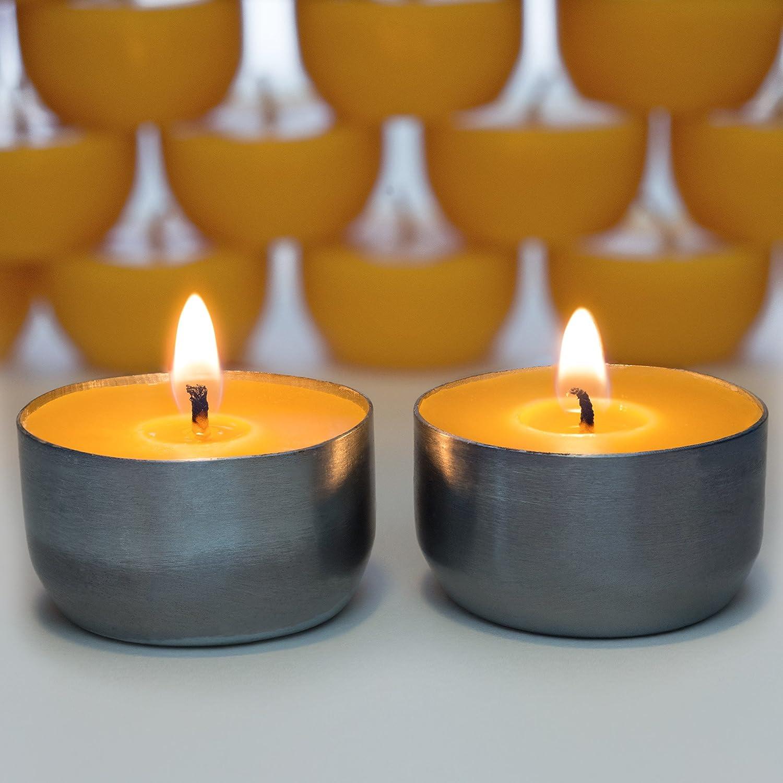 12 Serenibee Candle Reusable Steel Tea Light Cups