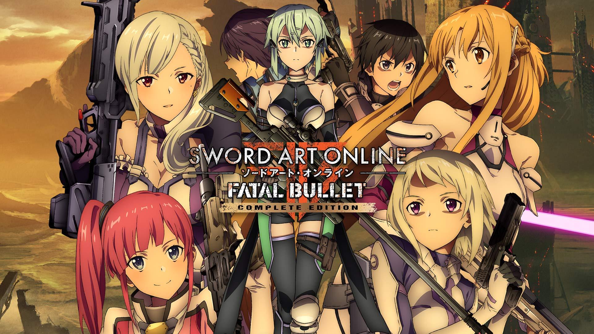 Amazoncom Sword Art Online Fatal Bullet Complete Edition