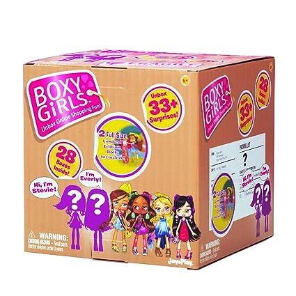 Amazon.com: Boxy Girls - Caja de misterio: Toys & Games