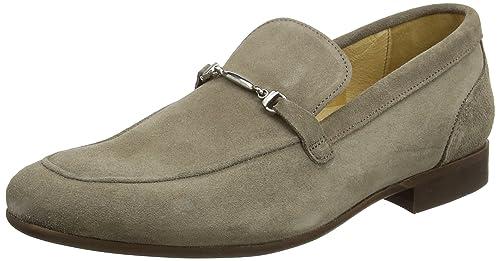 H By Hudson Navarre Suede Snaffle Loafers: Amazon.es: Zapatos y complementos
