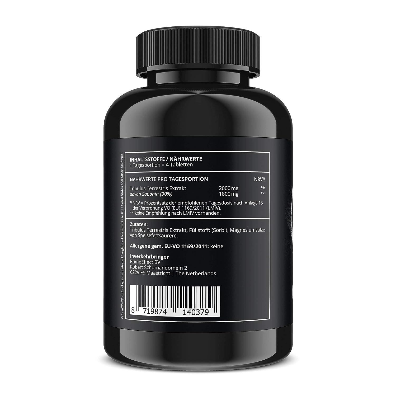 Testosteron Booster 540 Made in Germany Top Preis Saponingehalt 90/% Vorratspackung Vegan TRIBULUS TERRESTRIS 90/% Reines Tribulus Terrestris Extrakt Hochdosiert 3x 180 Tabletten a 500mg