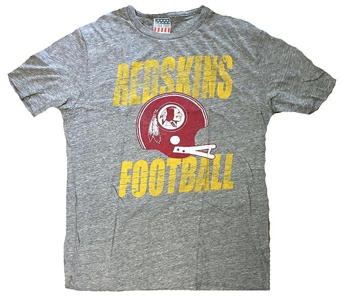 Amazon.com  Mens Junk Food Brand Washington Redskins Touchdown T ... cd0e073b6