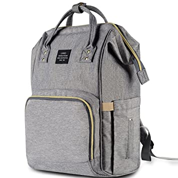 4a73529795cc Amazon.com   HaloVa Diaper Bag Multi-Function Waterproof Travel Backpack  Nappy Bags for Baby Care