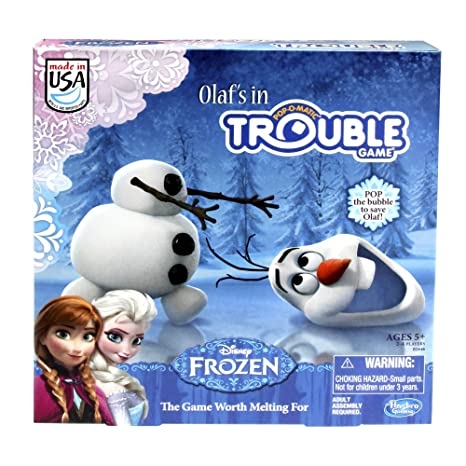 Amazoncom Frozen Olafs In Trouble Game Toys Games