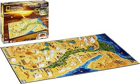 Eleven Force - Puzzle 4D civilizaciones Antiguas, diseño Egipto (10008): Amazon.es: Juguetes y juegos