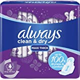 ALWAYS Mesh Maxi Thick, Large sanitary pads, 30 ct