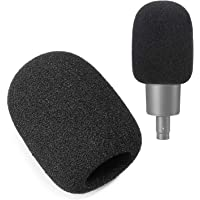 AT2020 Pop Filter Foam Cover - Large Mic Windscreen for Audio Technica AT2020 AT2020USB+ AT2035 Condenser Mic to Blocks…