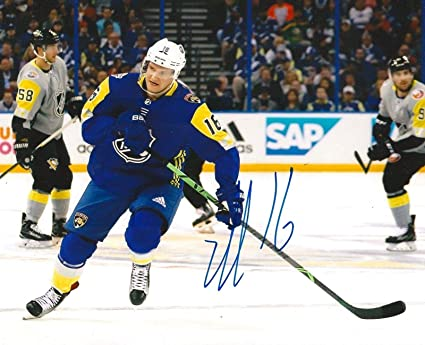 Autographed Aleksander Barkov Photograph - 8X10 ALL STAR GAME COA -  Autographed NHL Photos 2e998b697