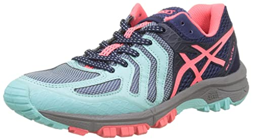 Asics Gel Fujiattack 5 Scarpe da Trail Running Donna Multicolore Aqua Splash
