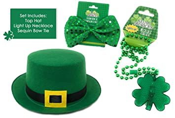 2abaace72a910 Amazon.com  St. Patrick s Day Accessories for Guys and Ladies