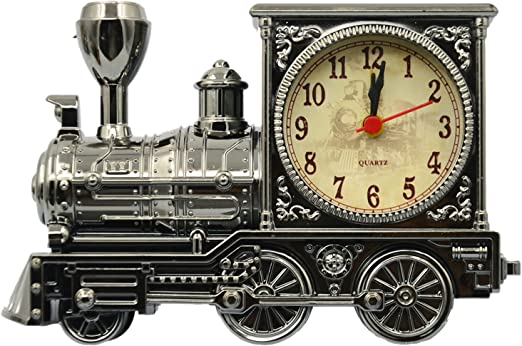 Kids Car Alarm Clock Retro Vintage Antique Quartz Movement Room Home Office Gift