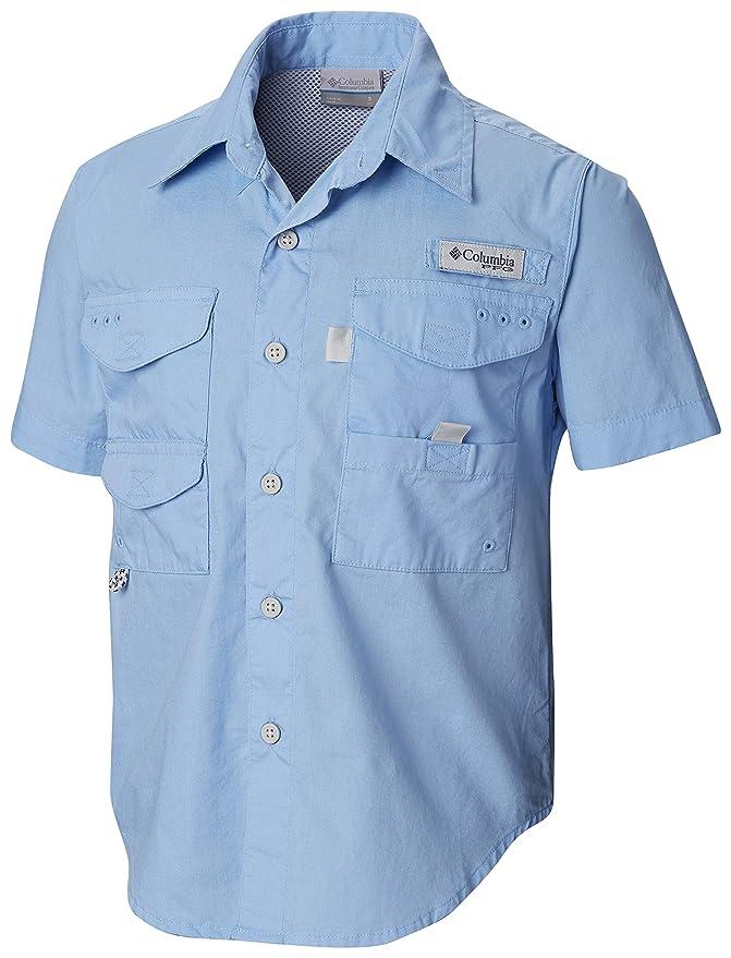 1974d82f6 Amazon.com : Columbia Youth Boys PFG Bonehead Short Sleeve Shirt, Cotton,  Relaxed Fit : Clothing