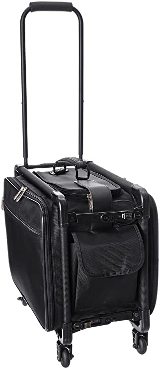 b3e3ce7ddfab TUTTO 17 Inch Small Carry-On Luggage, Black, One Size
