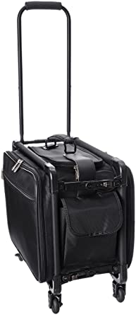 Amazon.com | TUTTO 17 Inch Small Carry-On Luggage, Black, One Size ...