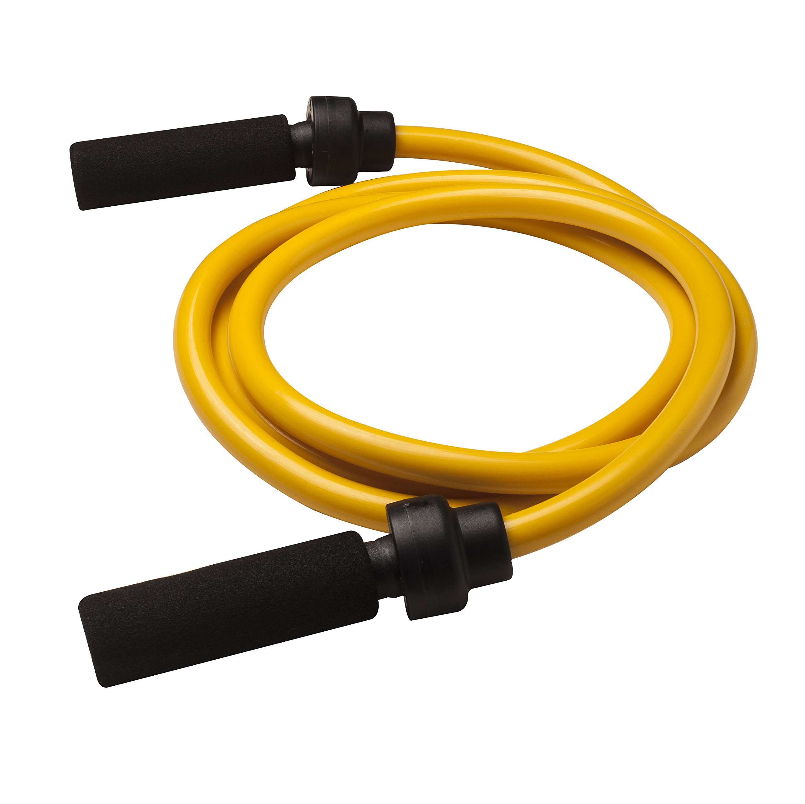 Champion Sports Weighted Jump Rope (Yellow, 3 Lbs) by Champion Sports (Image #1)