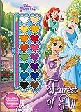 Disney Princess Fairest of All (Paint Palette Book)