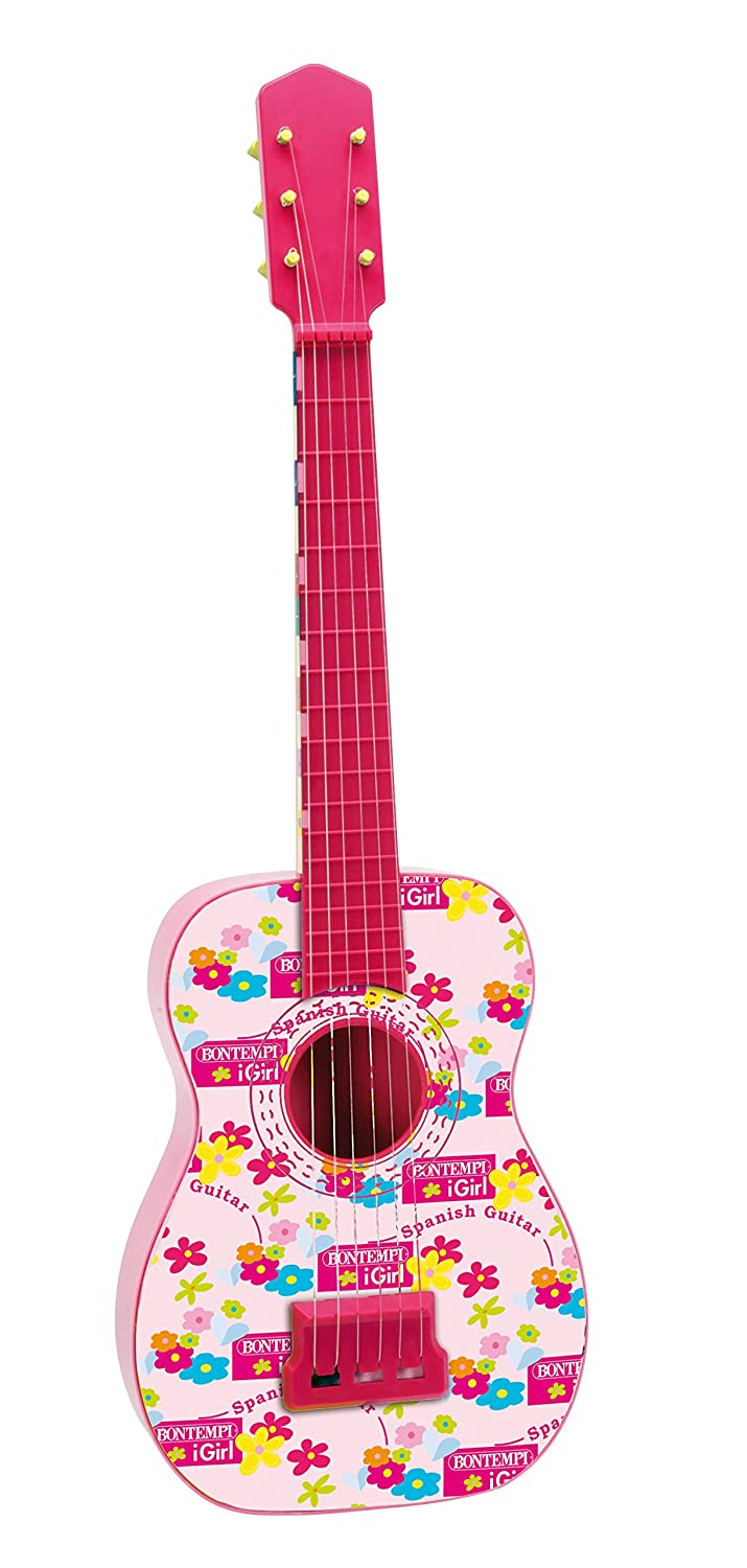 Bontempi Guitarra española con Cuerdas de Metal Color Rosa 71.5 cm Spanish Business Option Tradding GS 7171: Amazon.es: Juguetes y juegos