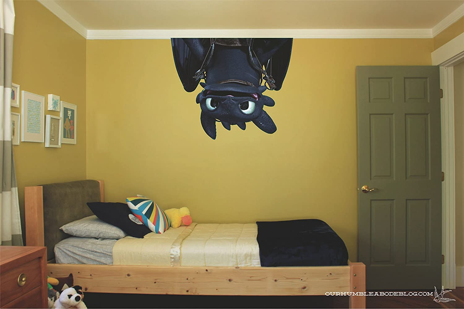 Toothless How to train your dragon Movie 3D Wall Decal Sticker