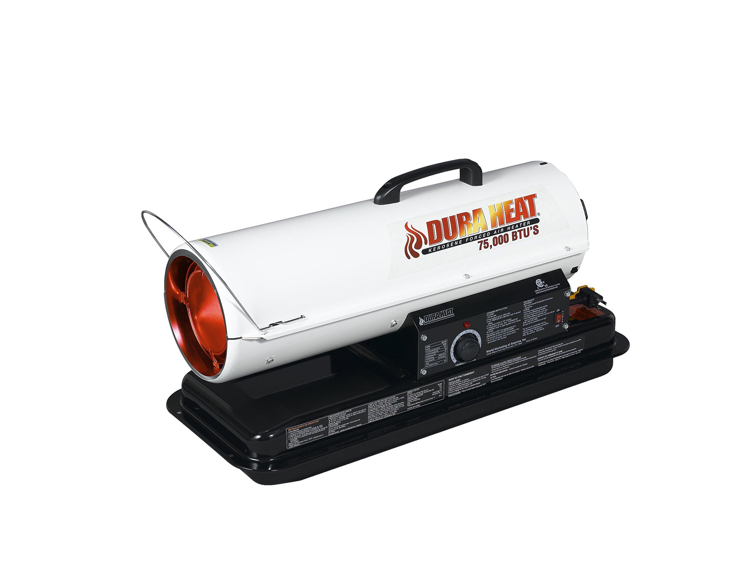 Dura Heat Portable Forced Air Heater, 75,000 BTU - DFA75T