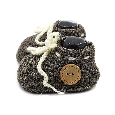 5b760c051c3e4 Magic Needles Handmade Knit Crochet Baby Booties Uggs Crib Shoes Newborn  Socks Soft Sole Prewalker Ankle Boots 4166