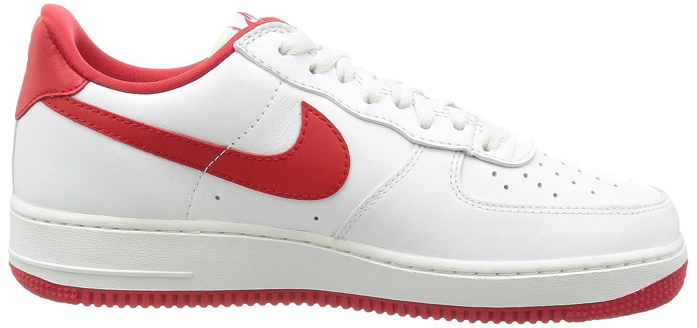 official photos 21ccd 8ff47 Nike Air Force 1 Low Retro Men s Shoes, White, 8.5 UK (43 EU)  Amazon.co.uk   Shoes   Bags