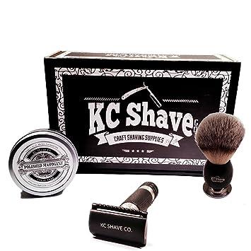 Amazon.com  KC Shave Maxwell Safety Razor Kit  Beauty 60d6790f3e