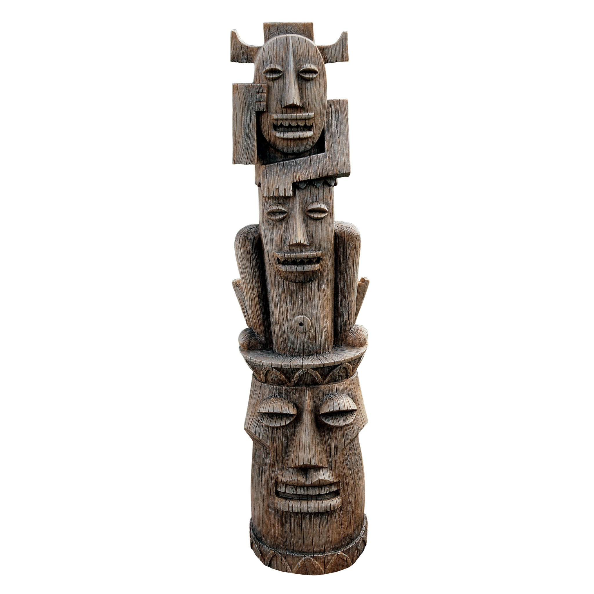 Design Toscano Tiki Gods of the Three Pleasures Statue