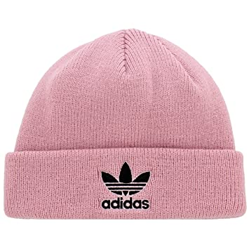 967444456 Adidas Boys/Youth Originals Trefoil Beanie, Ice Pink/Black, One Size ...