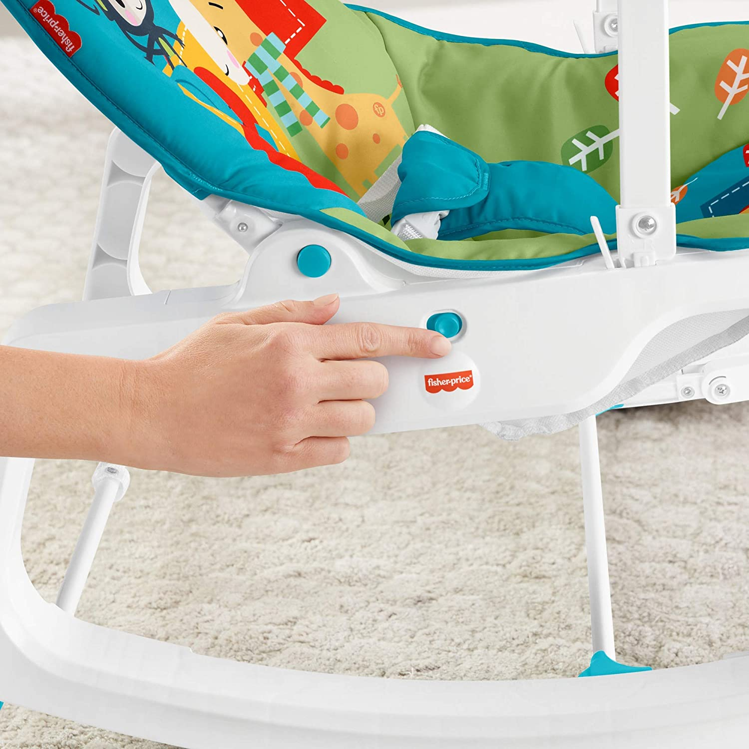 ghdonat.com Baby Bouncers Baby Rocking Chair with Toys for ...