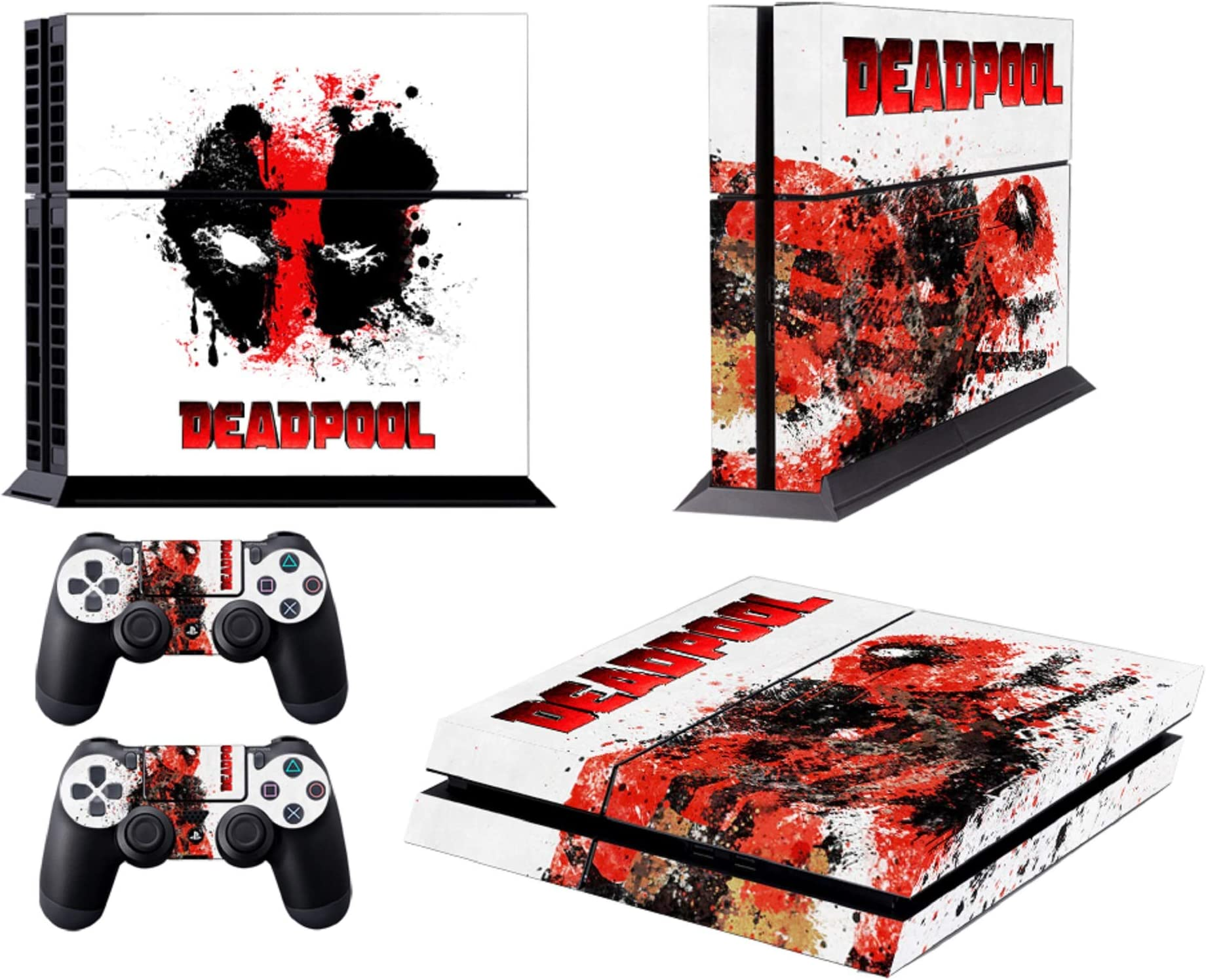 Video Game Accessories Learned Xbox One X Deadpool Skin Sticker Console Decal Vinyl Xbox Controller Easy To Lubricate