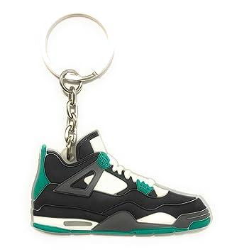 Zapatos Sneaker llavero aj-4 Retro, Amarillo: Amazon.es ...