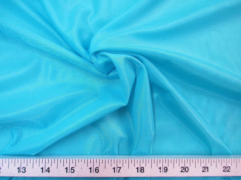"ROYAL BLUE Nylon Tricot Fabric 40 Denier Sewing 104/"" Wide Aerial"
