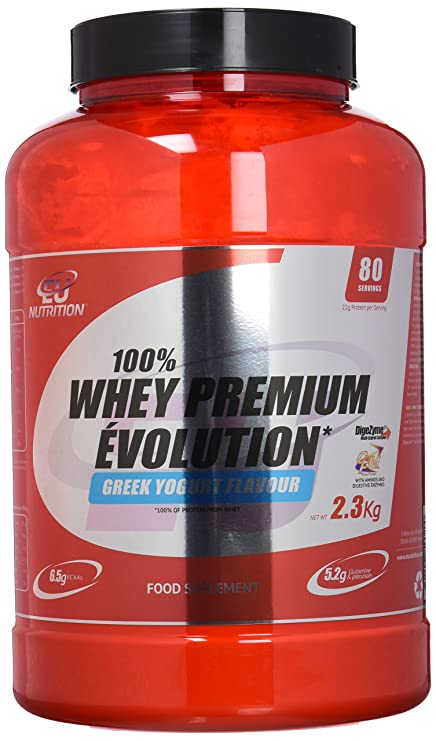 EU Nutrition 100% Whey Premium Évolution Greek Yogurt - 2300 ...