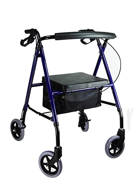 ANDADOR ROLLATOR MINI DE ALTURA REGULABLE