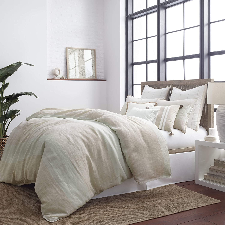 Southern Tide Home Sandbar Stripe Comforter Set, Twin, Multi