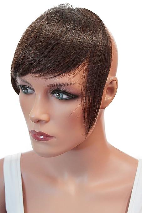 Amazon Prettyshop 100 Real Human Hair Clip In Bang Fringe